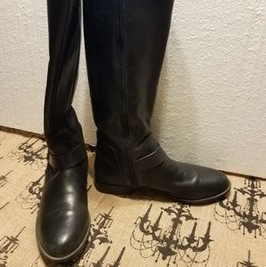 CLARKS knee high boots